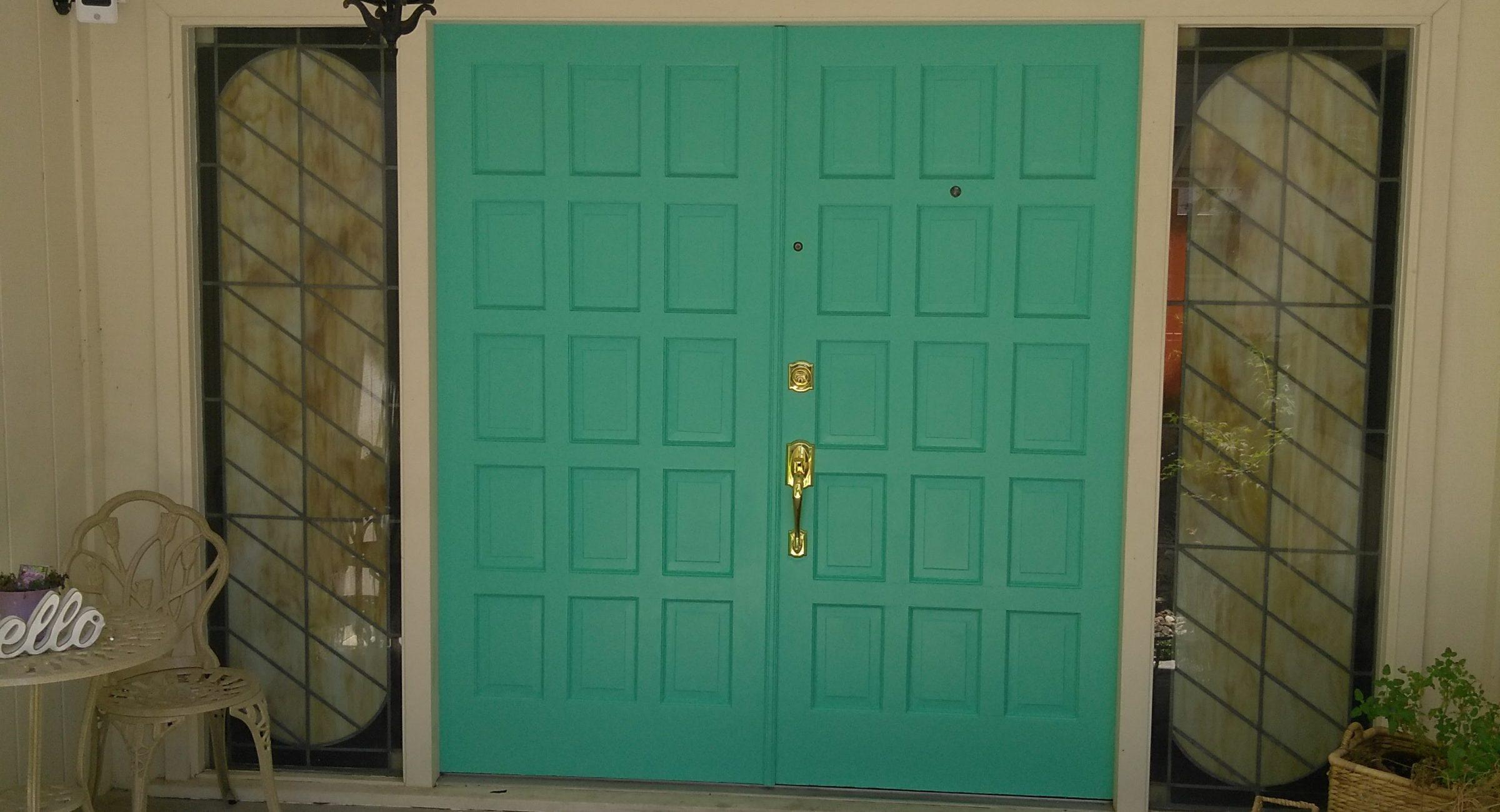 Modesto door paint
